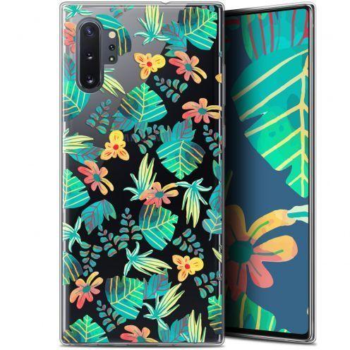 "Coque Gel Samsung Galaxy Note 10+ / Plus (6.8"") Extra Fine Spring - Tropical"