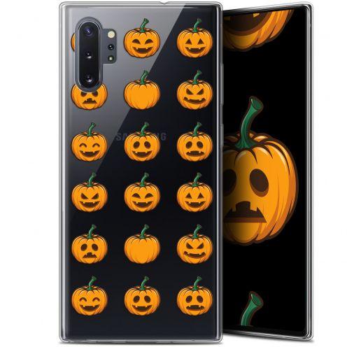 "Coque Gel Samsung Galaxy Note 10+ / Plus (6.8"") Extra Fine Halloween - Smiley Citrouille"