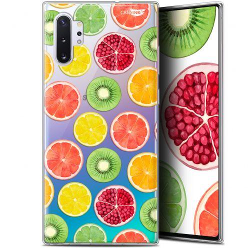 """Coque Gel Samsung Galaxy Note 10+ / Plus (6.8"""") Extra Fine Motif - Fruity Fresh"""