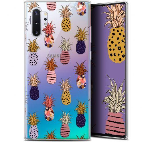 "Coque Gel Samsung Galaxy Note 10+ / Plus (6.8"") Extra Fine Motif - Ananas Gold"