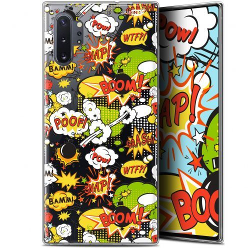 "Coque Gel Samsung Galaxy Note 10+ / Plus (6.8"") Extra Fine Motif - Bim Bam Boom"