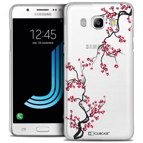 Coque Crystal Rigide Samsung Galaxy J5 2016 (J510) Extra Fine Summer - Sakura