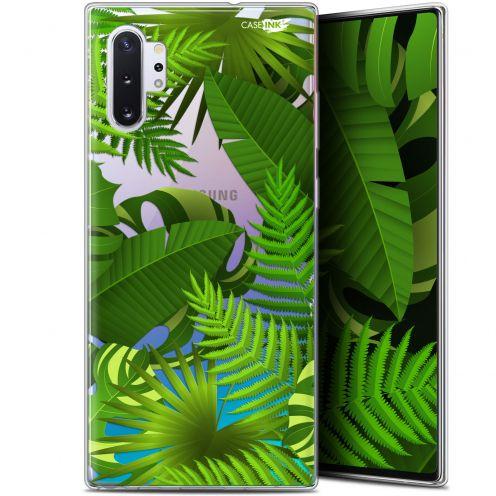 """Coque Gel Samsung Galaxy Note 10+ / Plus (6.8"""") Extra Fine Motif - Plantes des Tropiques"""