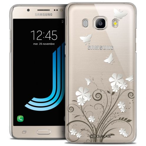 Coque Crystal Rigide Samsung Galaxy J5 2016 (J510) Extra Fine Summer - Papillons