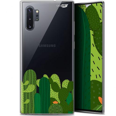 """Coque Gel Samsung Galaxy Note 10+ / Plus (6.8"""") Extra Fine Motif - Cactus"""