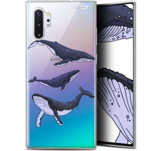 "Coque Gel Samsung Galaxy Note 10+ / Plus (6.8"") Extra Fine Motif - Les 3 Baleines"