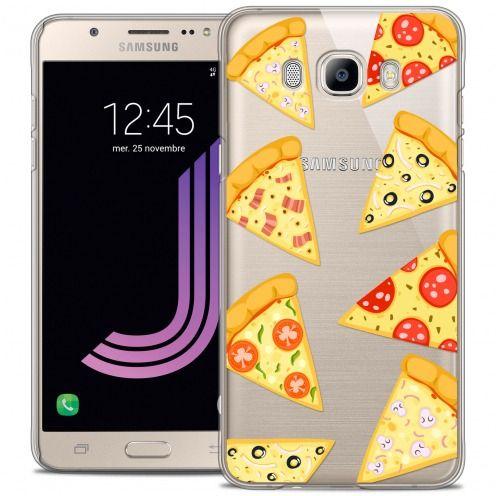 Coque Crystal Galaxy J7 2016 (J710) Extra Fine Foodie - Pizza