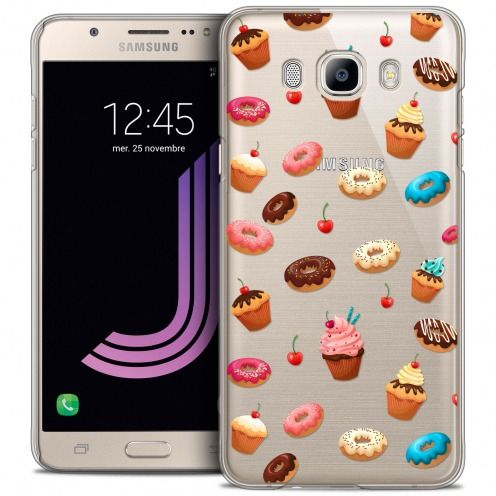 Coque Crystal Galaxy J7 2016 (J710) Extra Fine Foodie - Donuts