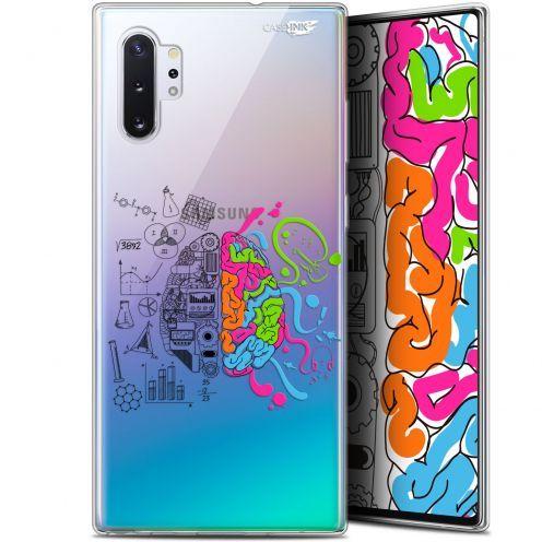"Coque Gel Samsung Galaxy Note 10+ / Plus (6.8"") Extra Fine Motif - Le Cerveau"