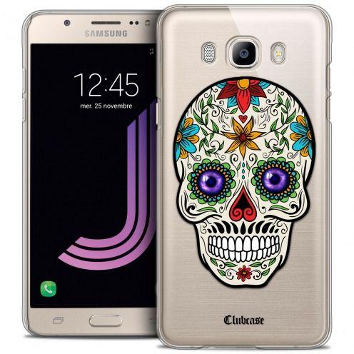 Coque Crystal Galaxy J7 2016 (J710) Extra Fine Skull - Maria's Flower