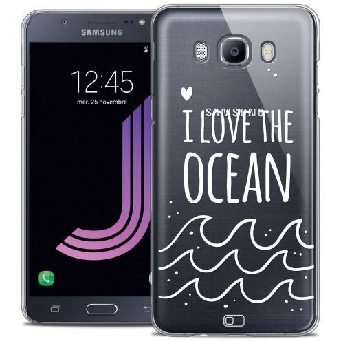 Coque Crystal Galaxy J7 2016 (J710) Extra Fine Summer - I Love Ocean