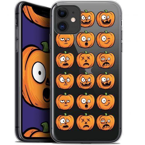 "Coque Gel Apple iPhone 11 (6.1"") Extra Fine Halloween - Cartoon Citrouille"