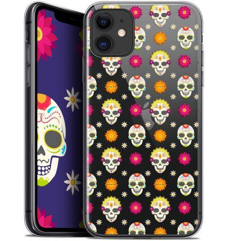 """Coque Gel Apple iPhone 11 (6.1"""") Extra Fine Halloween - Skull Halloween"""
