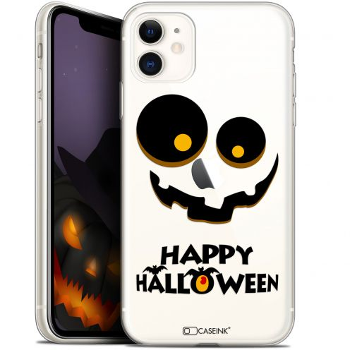 """Coque Gel Apple iPhone 11 (6.1"""") Extra Fine Halloween - Happy"""