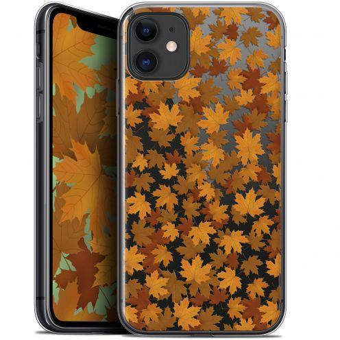 """Coque Gel Apple iPhone 11 (6.1"""") Extra Fine Autumn 16 - Feuilles"""