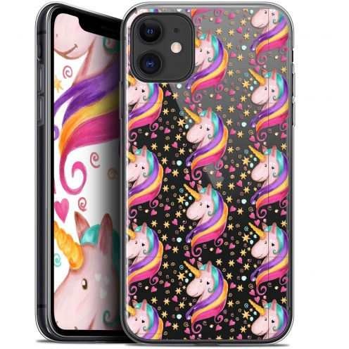 "Coque Gel Apple iPhone 11 (6.1"") Extra Fine Fantasia - Licorne Etoilée"