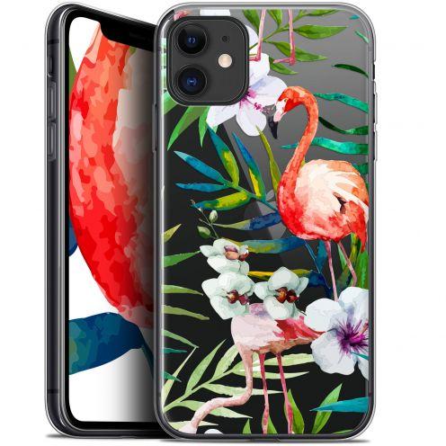 "Coque Gel Apple iPhone 11 (6.1"") Extra Fine Watercolor - Tropical Flamingo"