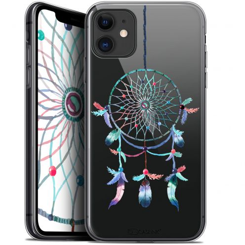 "Coque Gel Apple iPhone 11 (6.1"") Extra Fine Dreamy - Attrape Rêves Rainbow"
