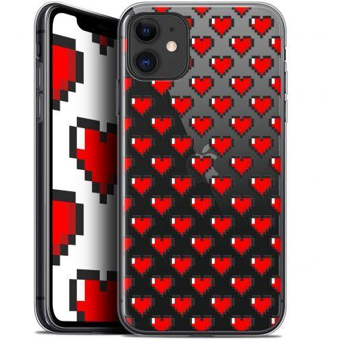 """Coque Gel Apple iPhone 11 (6.1"""") Extra Fine Love - Pixel Art"""