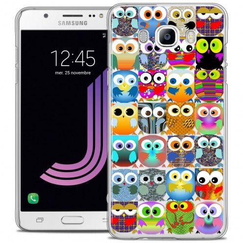 Coque Crystal Rigide Samsung Galaxy J7 2016 (J710) Extra Fine Claude - Hibous