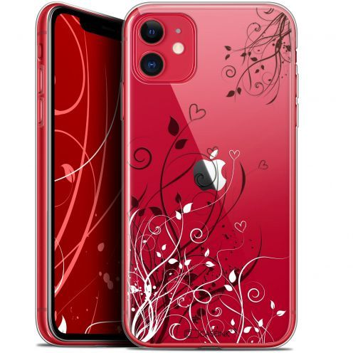 """Coque Gel Apple iPhone 11 (6.1"""") Extra Fine Love - Hearts Flowers"""