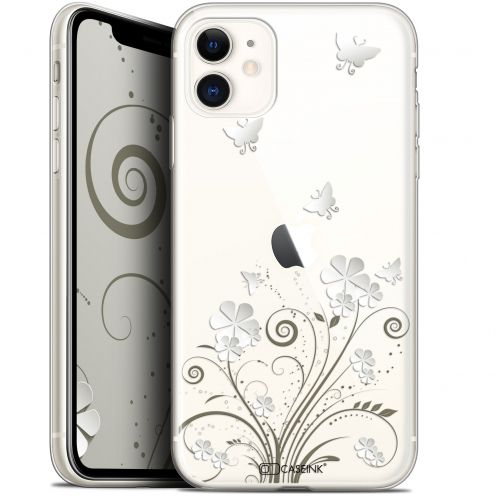 "Coque Gel Apple iPhone 11 (6.1"") Extra Fine Summer - Papillons"