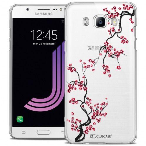 Coque Crystal Rigide Samsung Galaxy J7 2016 (J710) Extra Fine Summer - Sakura