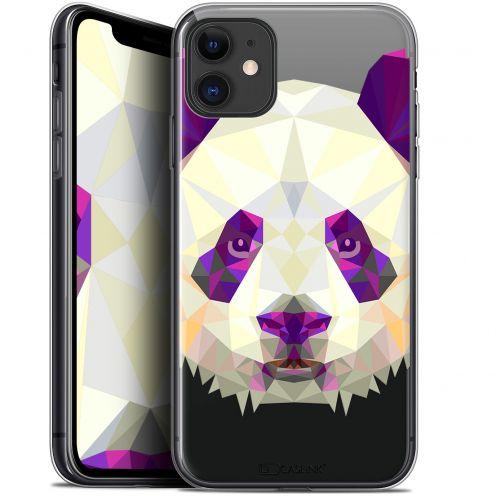 "Coque Gel Apple iPhone 11 (6.1"") Extra Fine Polygon Animals - Panda"