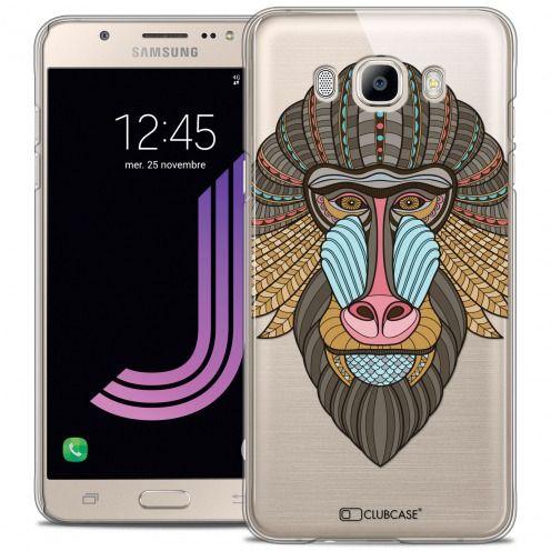 Coque Crystal Rigide Samsung Galaxy J7 2016 (J710) Extra Fine Summer - Babouin