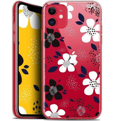 "Coque Gel Apple iPhone 11 (6.1"") Extra Fine Motif - Marimeko Style"