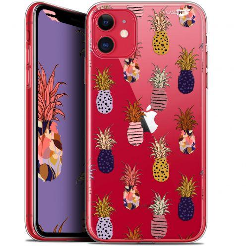 "Coque Gel Apple iPhone 11 (6.1"") Extra Fine Motif - Ananas Gold"