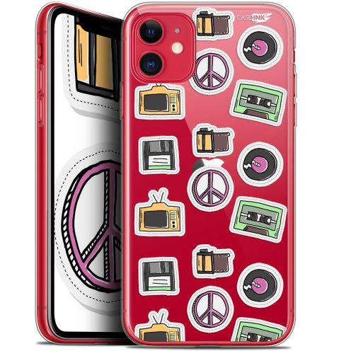 "Coque Gel Apple iPhone 11 (6.1"") Extra Fine Motif - Vintage Stickers"