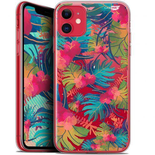 """Coque Gel Apple iPhone 11 (6.1"""") Extra Fine Motif - Couleurs des Tropiques"""