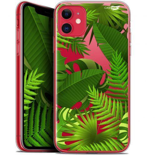 "Coque Gel Apple iPhone 11 (6.1"") Extra Fine Motif - Plantes des Tropiques"