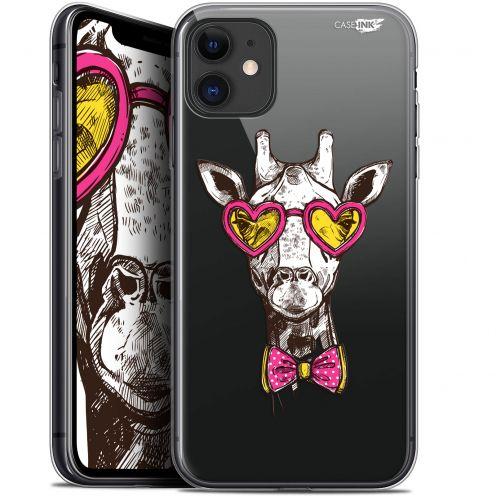"""Coque Gel Apple iPhone 11 (6.1"""") Extra Fine Motif - Hipster Giraffe"""