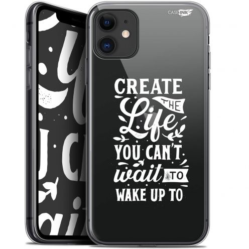 """Coque Gel Apple iPhone 11 (6.1"""") Extra Fine Motif - Wake Up Your Life"""