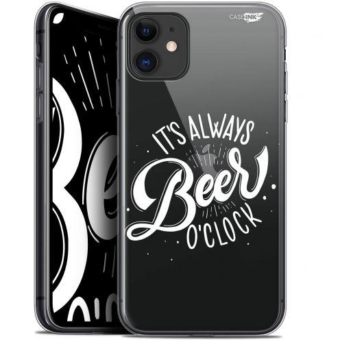 "Coque Gel Apple iPhone 11 (6.1"") Extra Fine Motif - Its Beer O'Clock"