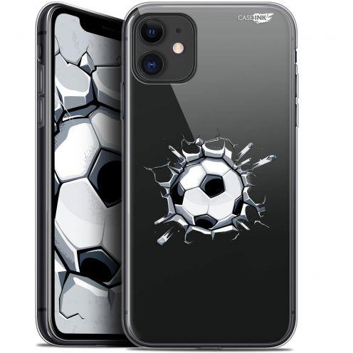"Coque Gel Apple iPhone 11 (6.1"") Extra Fine Motif - Le Balon de Foot"