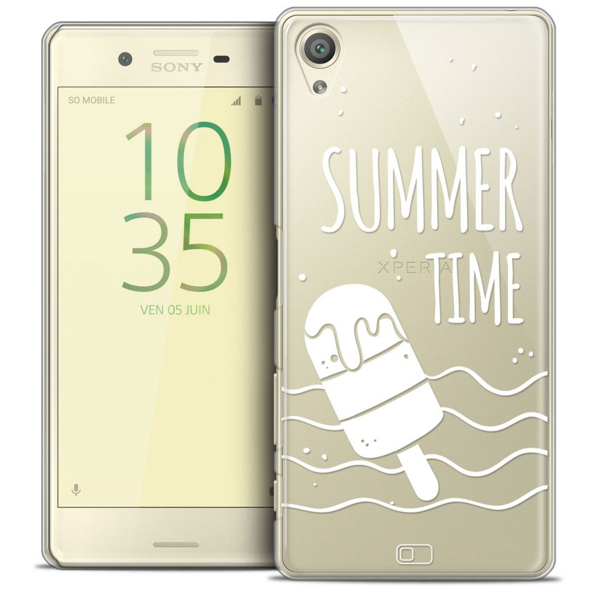 Coque Crystal Xperia X Extra Fine Summer - Summer Time