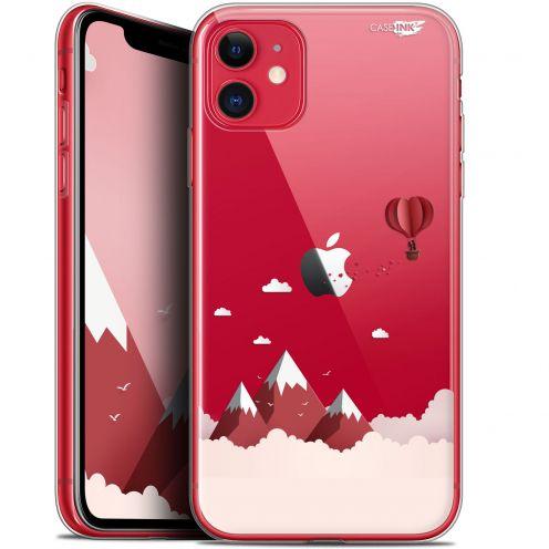 """Coque Gel Apple iPhone 11 (6.1"""") Extra Fine Motif - Montagne En Montgolfière"""