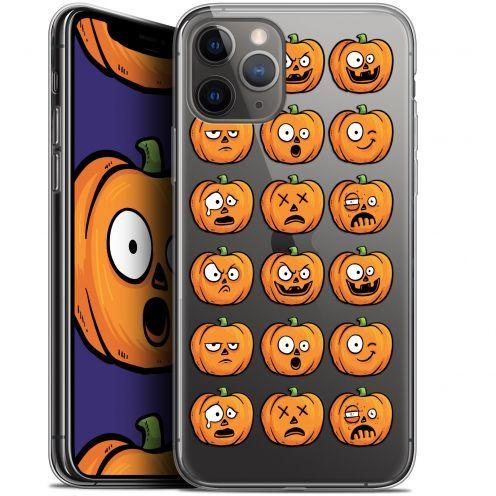 "Coque Gel Apple iPhone 11 Pro (5.8"") Extra Fine Halloween - Cartoon Citrouille"
