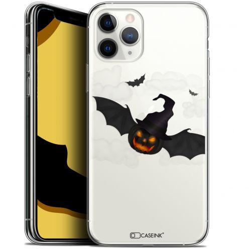 "Coque Gel Apple iPhone 11 Pro (5.8"") Extra Fine Halloween - Chauve Citrouille"