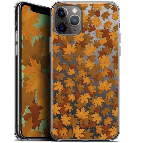 "Coque Gel Apple iPhone 11 Pro (5.8"") Extra Fine Autumn 16 - Feuilles"