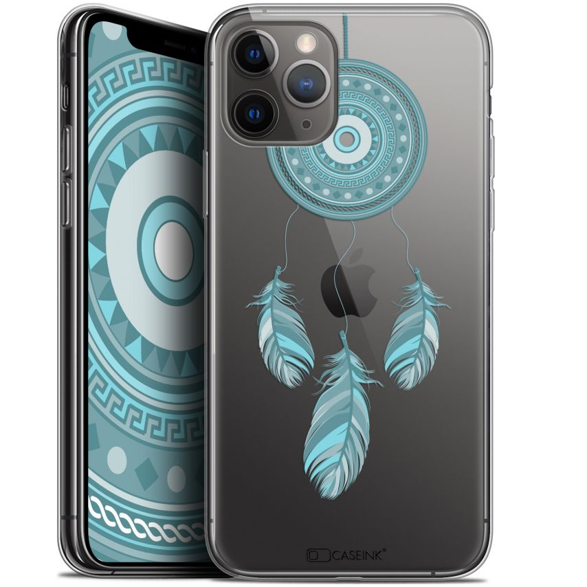 "Coque Gel Apple iPhone 11 Pro (5.8"") Extra Fine Dreamy - Attrape Rêves Blue"
