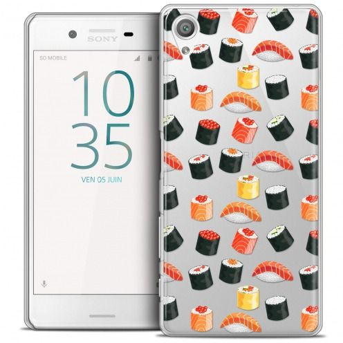 Coque Crystal Xperia X Extra Fine Foodie - Sushi