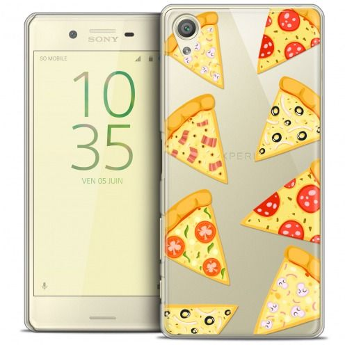 Coque Crystal Xperia X Extra Fine Foodie - Pizza