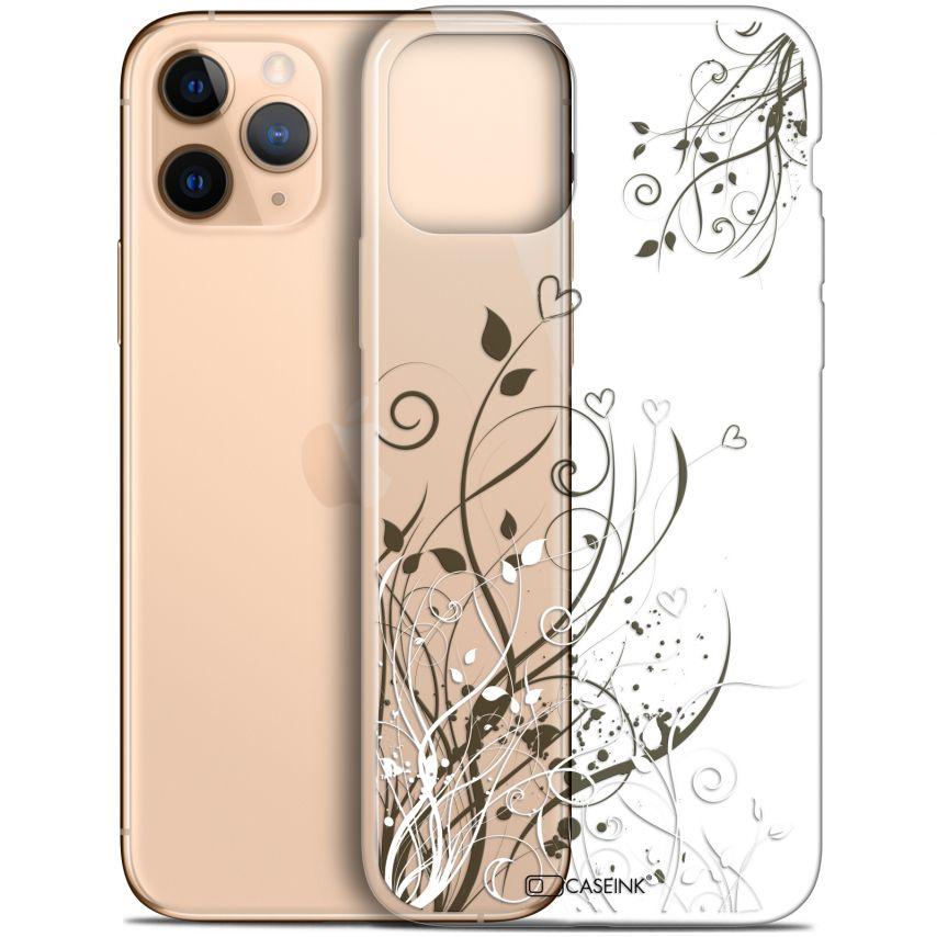 "Coque Gel Apple iPhone 11 Pro (5.8"") Extra Fine Love - Hearts Flowers"