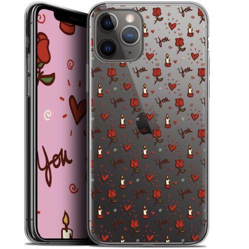 "Coque Gel Apple iPhone 11 Pro (5.8"") Extra Fine Love - Bougies et Roses"