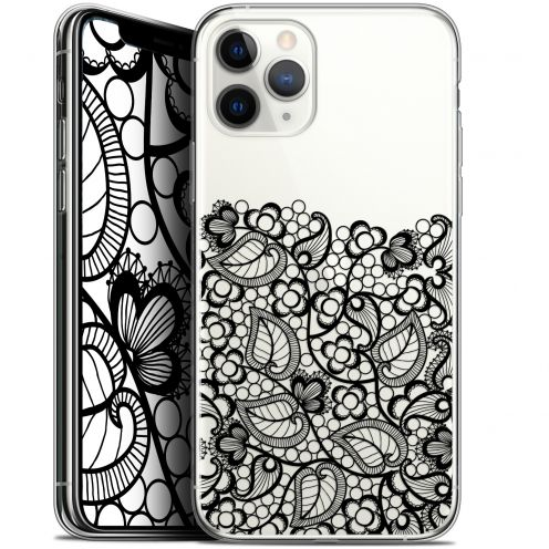 "Coque Gel Apple iPhone 11 Pro (5.8"") Extra Fine Spring - Bas dentelle Noir"