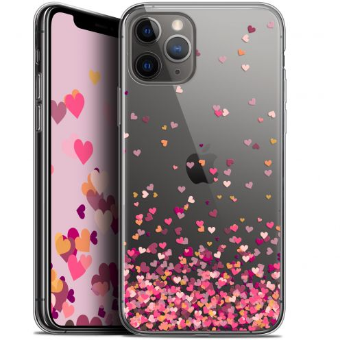 "Coque Gel Apple iPhone 11 Pro (5.8"") Extra Fine Sweetie - Heart Flakes"